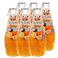Nước Hạt É Basil Seed Cam PAM Chai 290ml (lốc 6 chai)