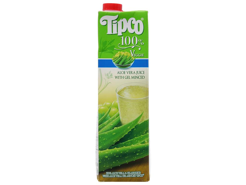 Nước ép nha đam và nho Tipco 1 lít 2