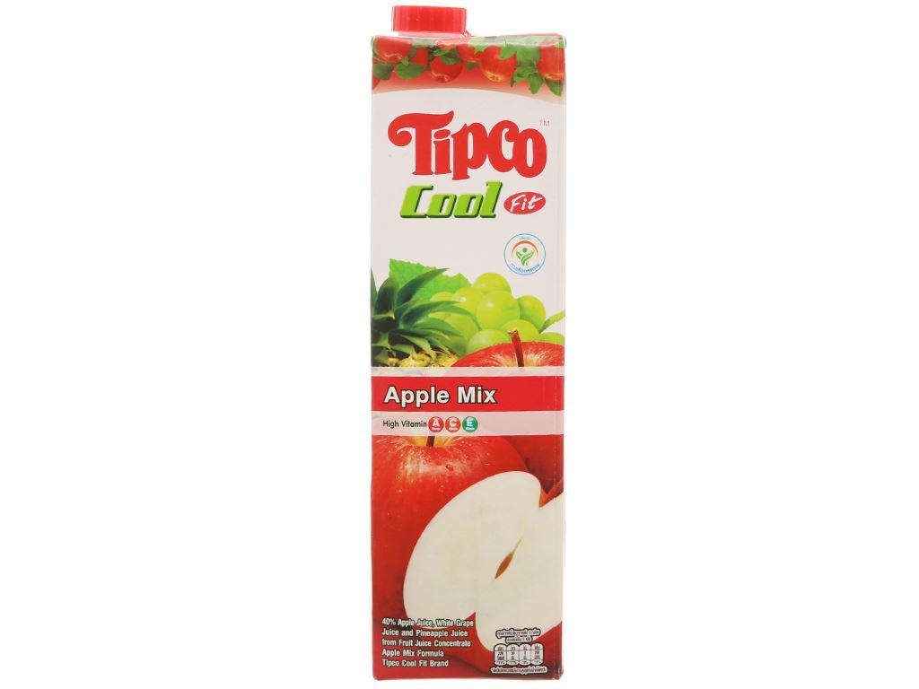 Nước ép trái cây hỗn hợp và táo Tipco 1L 1