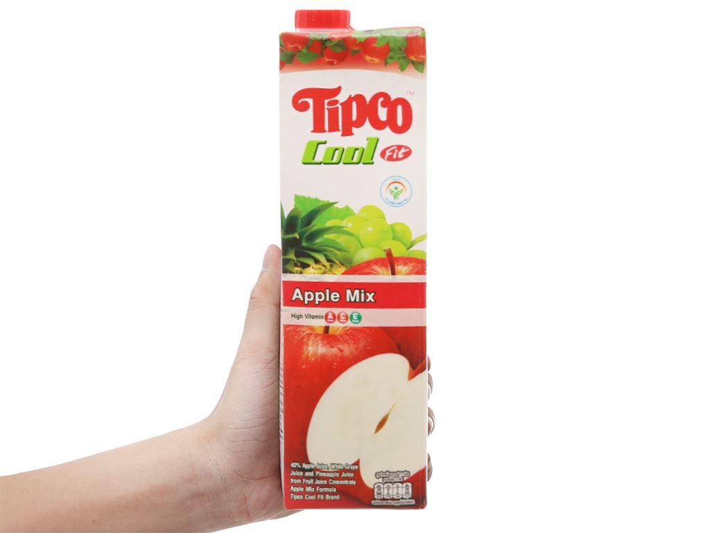 Nước ép trái cây hỗn hợp và táo Tipco 1L 4
