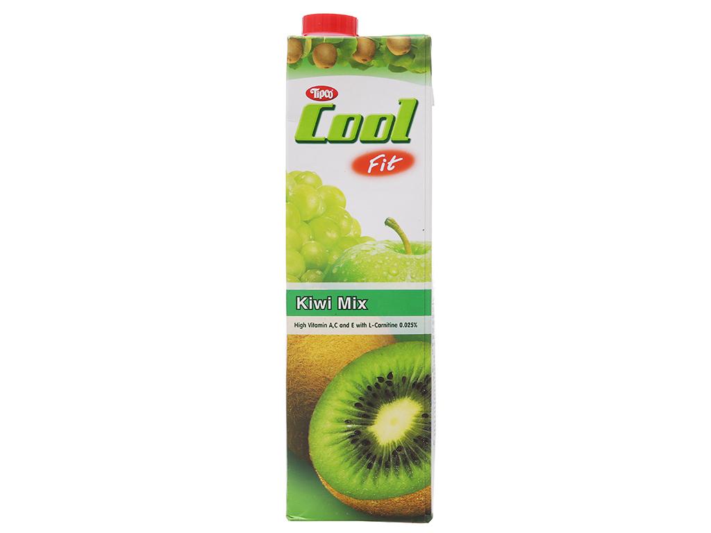 Nước ép trái cây hỗn hợp và kiwi Tipco Cool Fit 1L 2