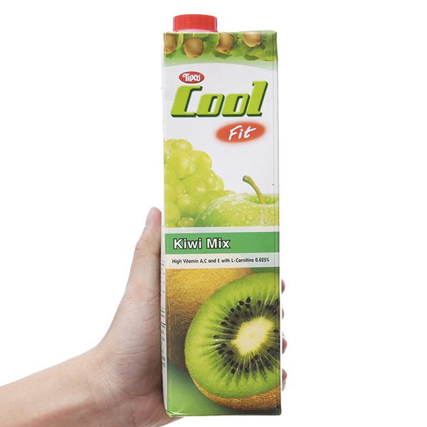 Nước ép trái cây hỗn hợp và kiwi Tipco Cool Fit 1L