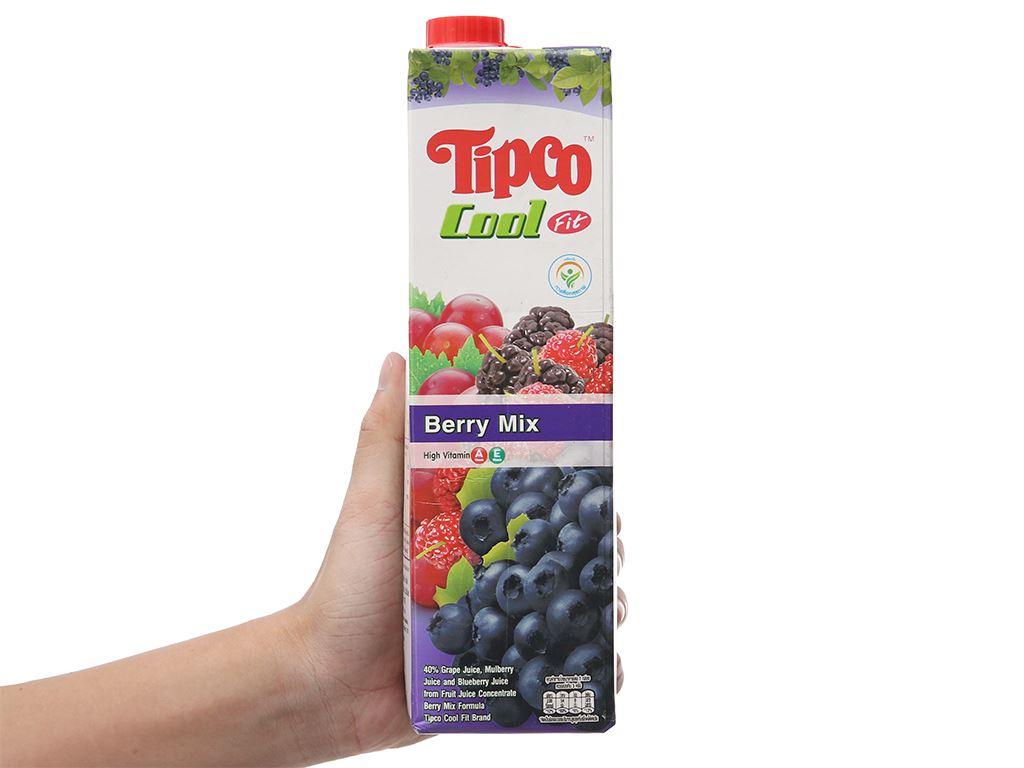 Nước ép berry & trái cây Tipco Cool Fit 1 lít 5