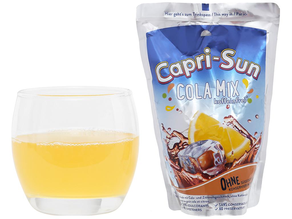 Nước ép trái cây vị cola Capri-Sun 200ml 4