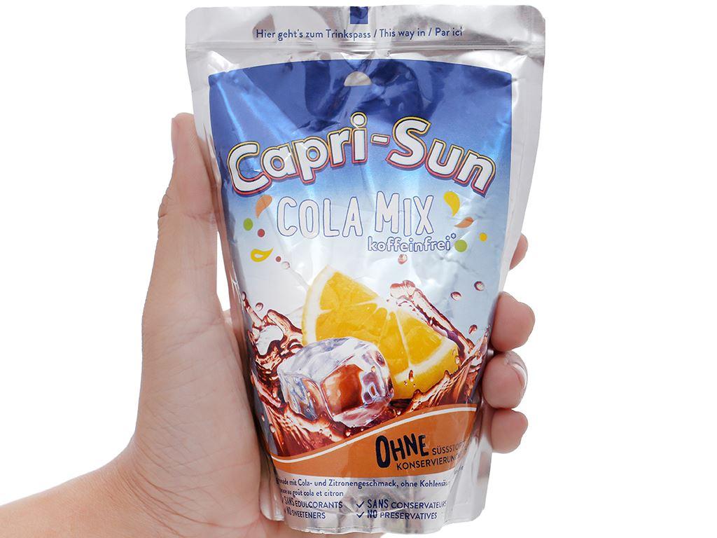 Nước ép trái cây vị cola Capri-Sun 200ml 5