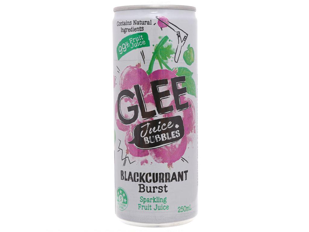 Nước lý chua đen hỗn hợp Glee 250ml 2