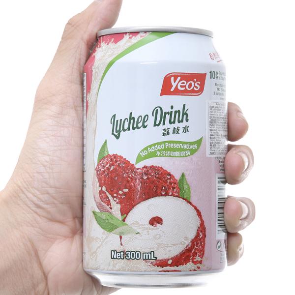 Nước trái vải Yeo's lon 300ml