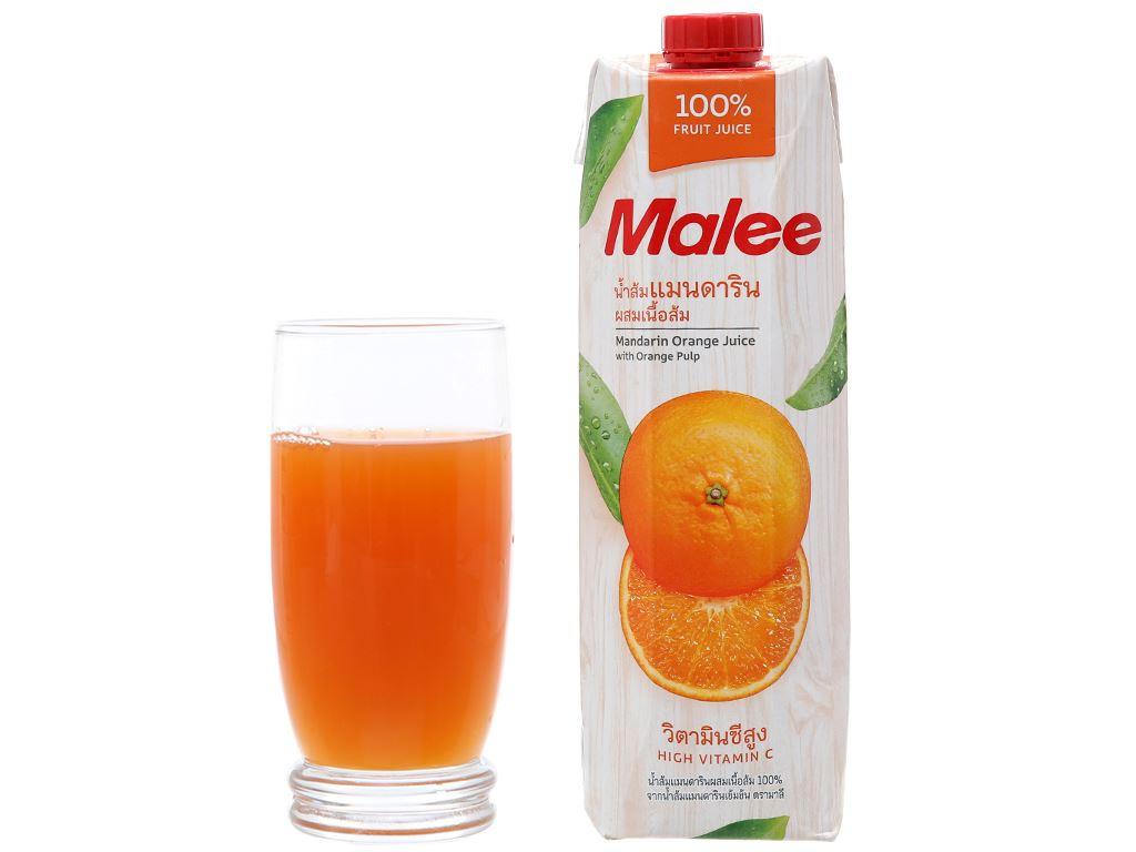 Nước ép quýt Malee 1L 3