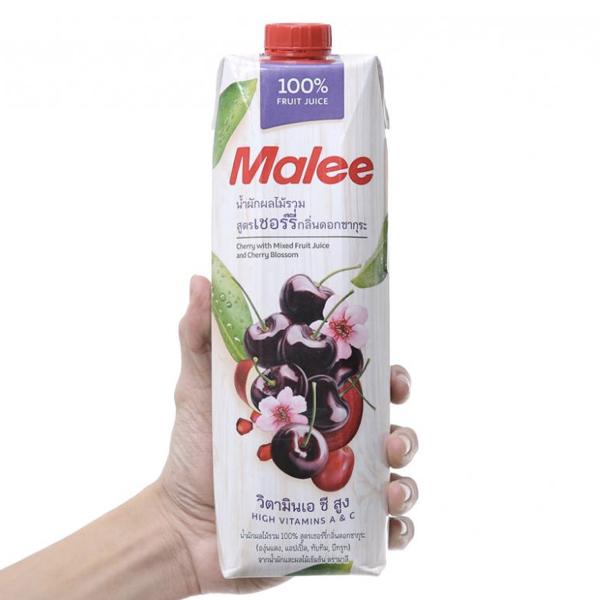 Nước ép cherry Malee 1L