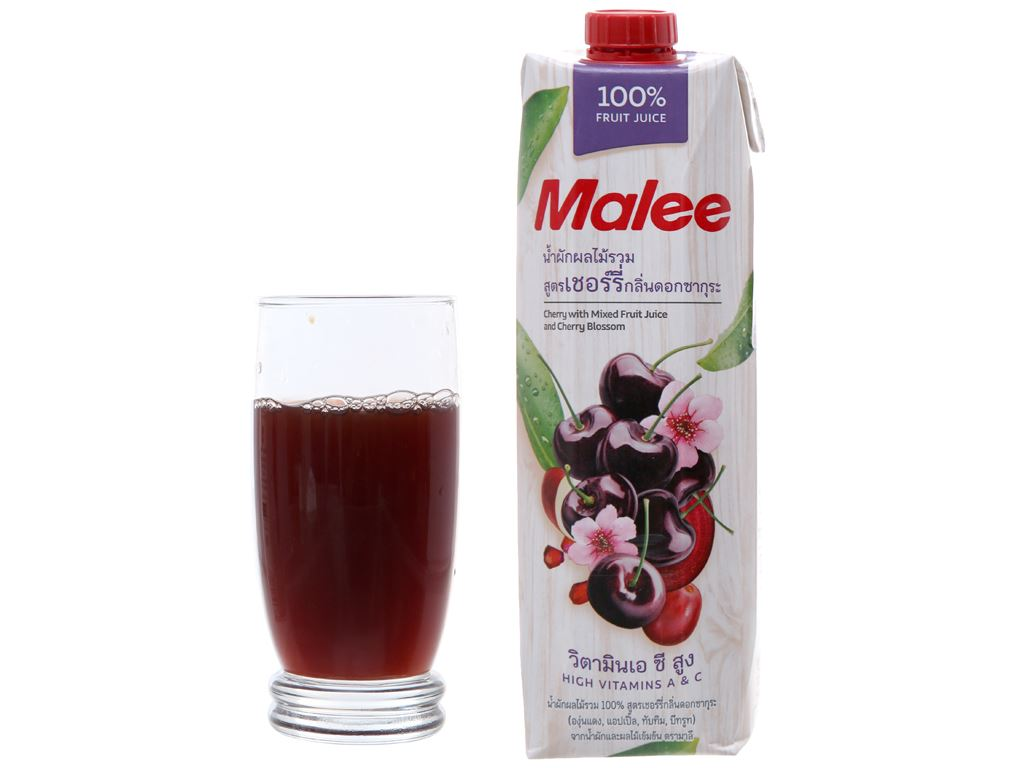 Nước ép cherry Malee 1 lít 3