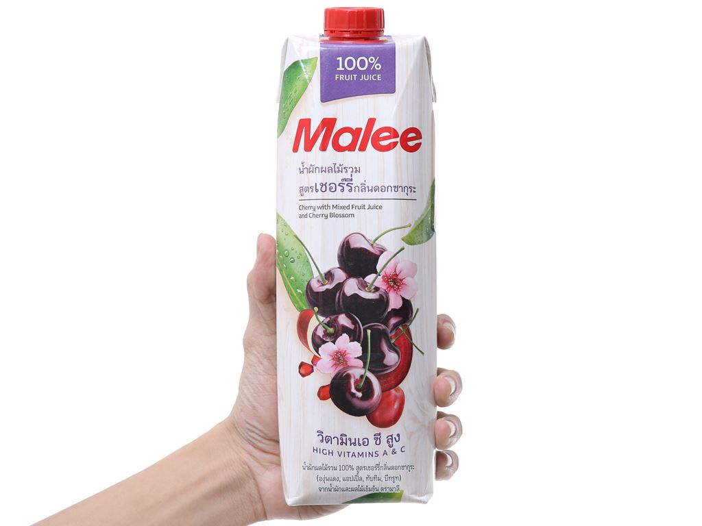 Nước ép cherry Malee 1 lít 4