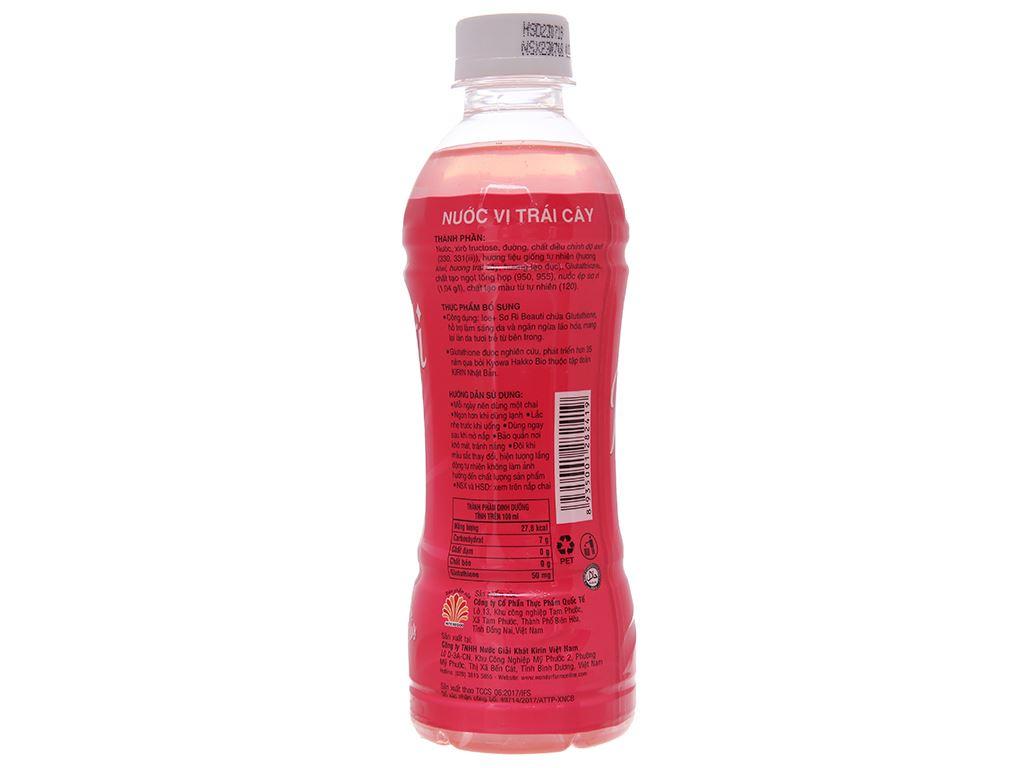Thùng 24 chai nước trái cây Ice+ vị sơ ri 345ml 3