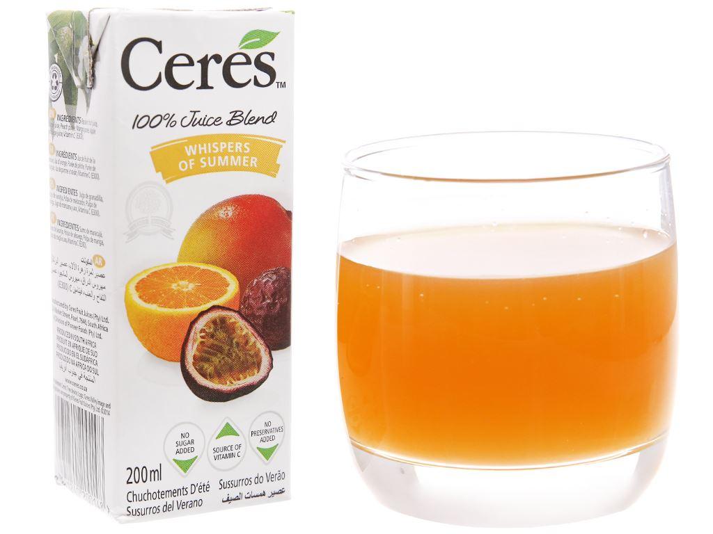 Nước ép trái cây nhiệt đới Ceres 200ml 2