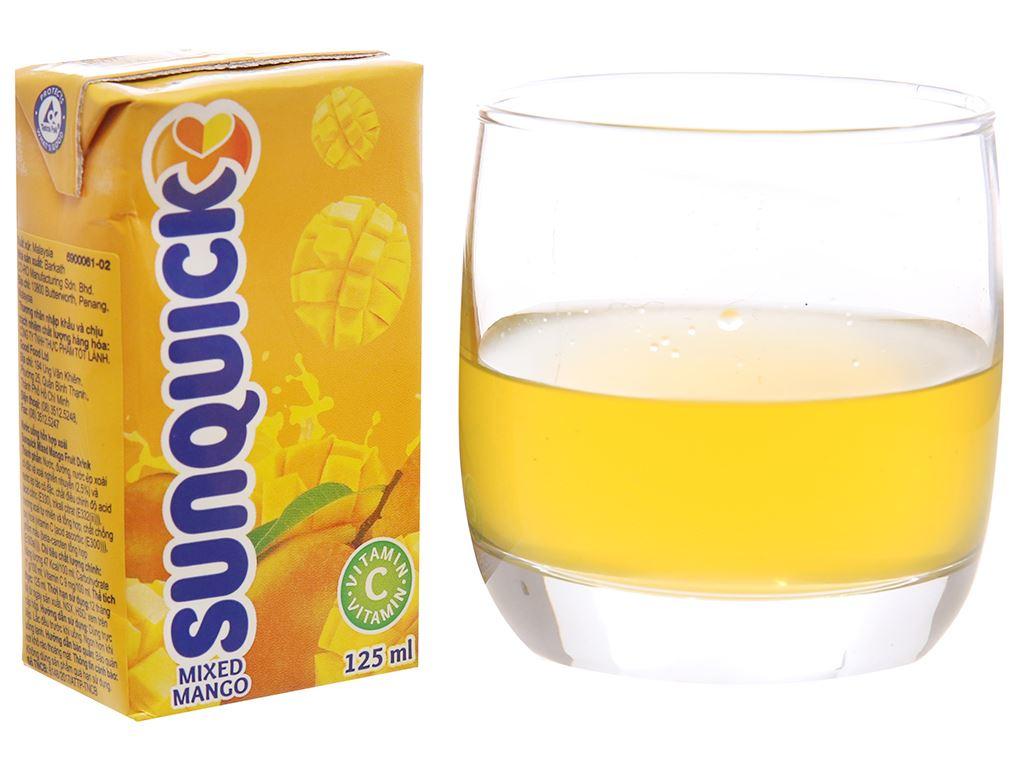 Nước ép xoài Sunquick 125ml 1