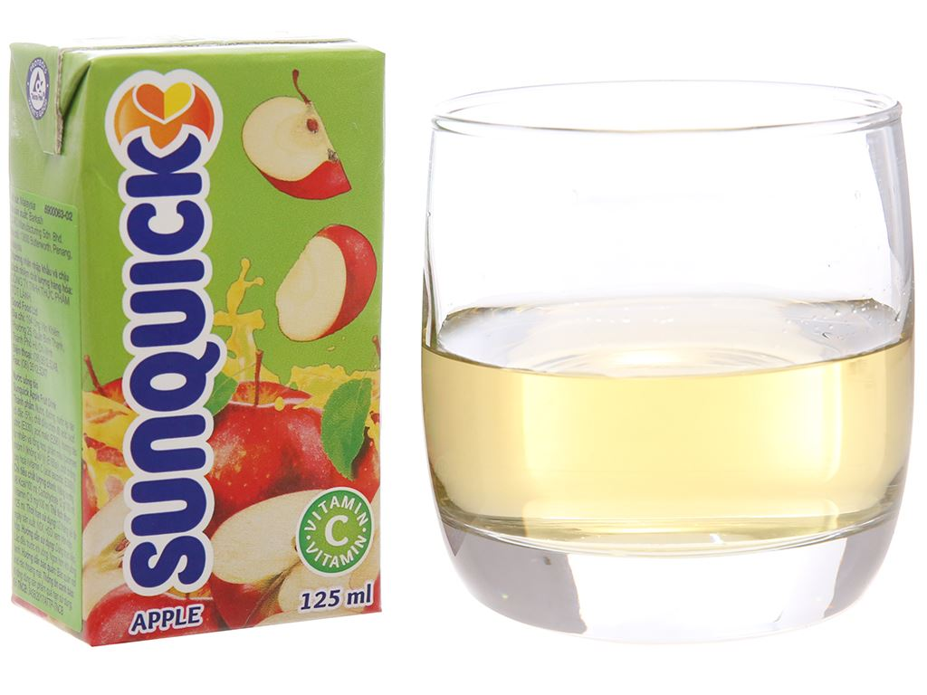 Nước ép táo Sunquick 125ml 1
