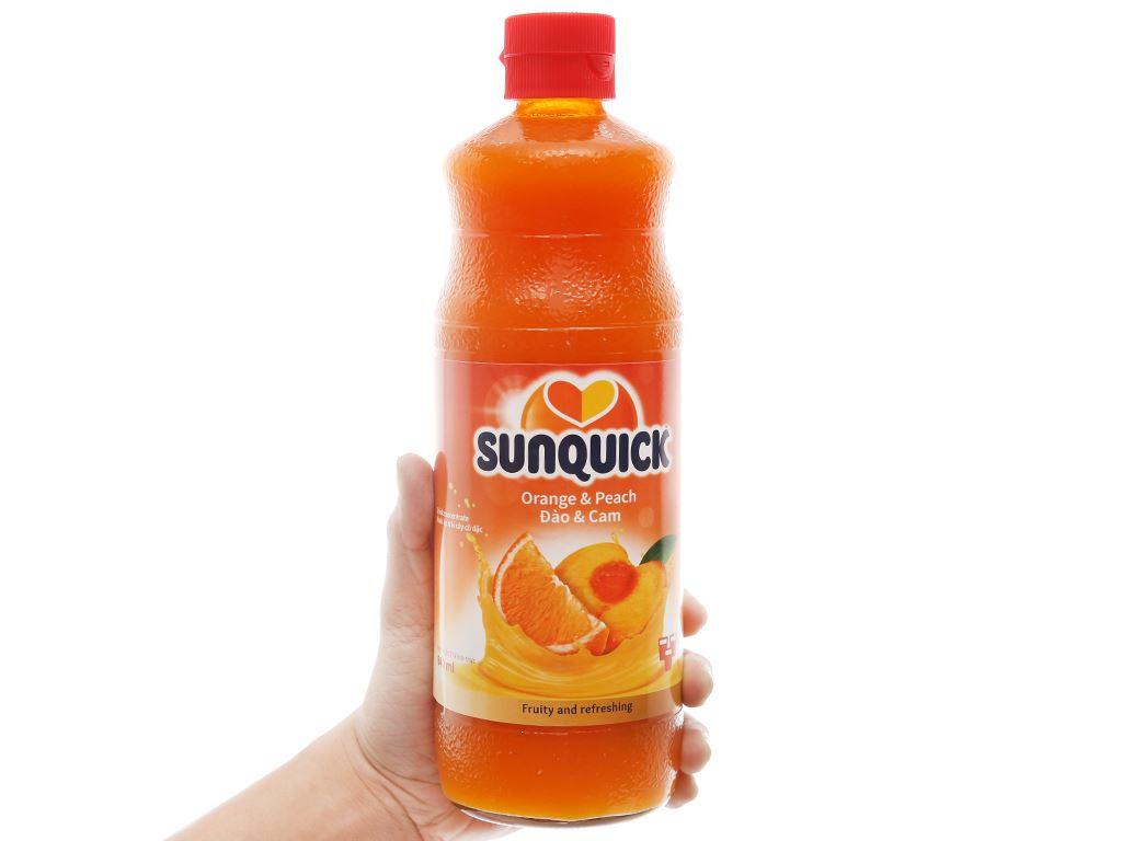 Nước ép cô đặc đào & cam Sunquick 840ml 4