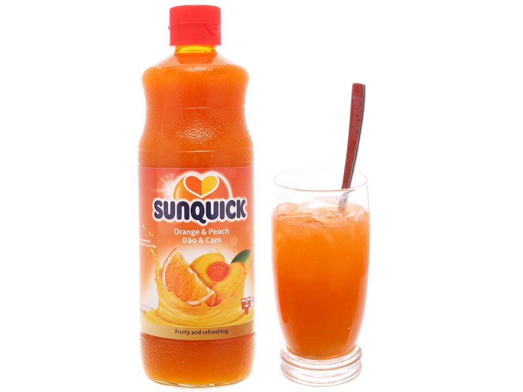 Nước ép cô đặc đào & cam Sunquick 840ml 5