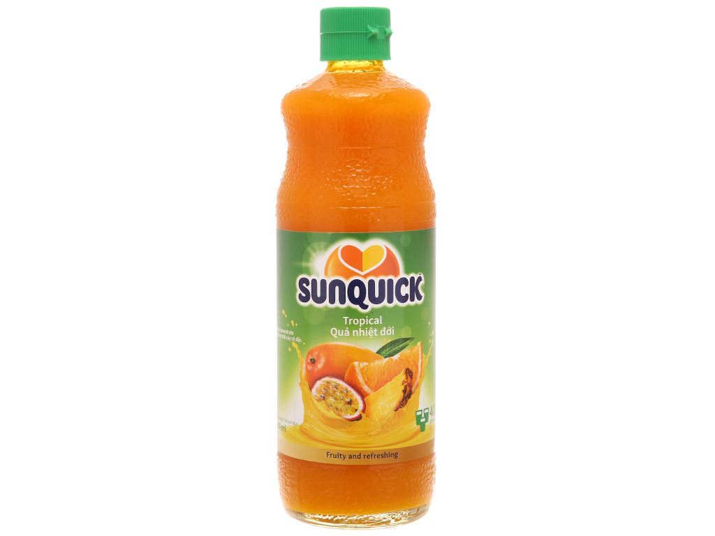 Nước ép cô đặc trái cây nhiệt đới Sunquick 840ml 1