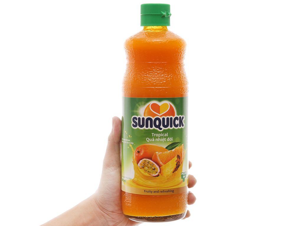Nước ép cô đặc trái cây nhiệt đới Sunquick 840ml 3