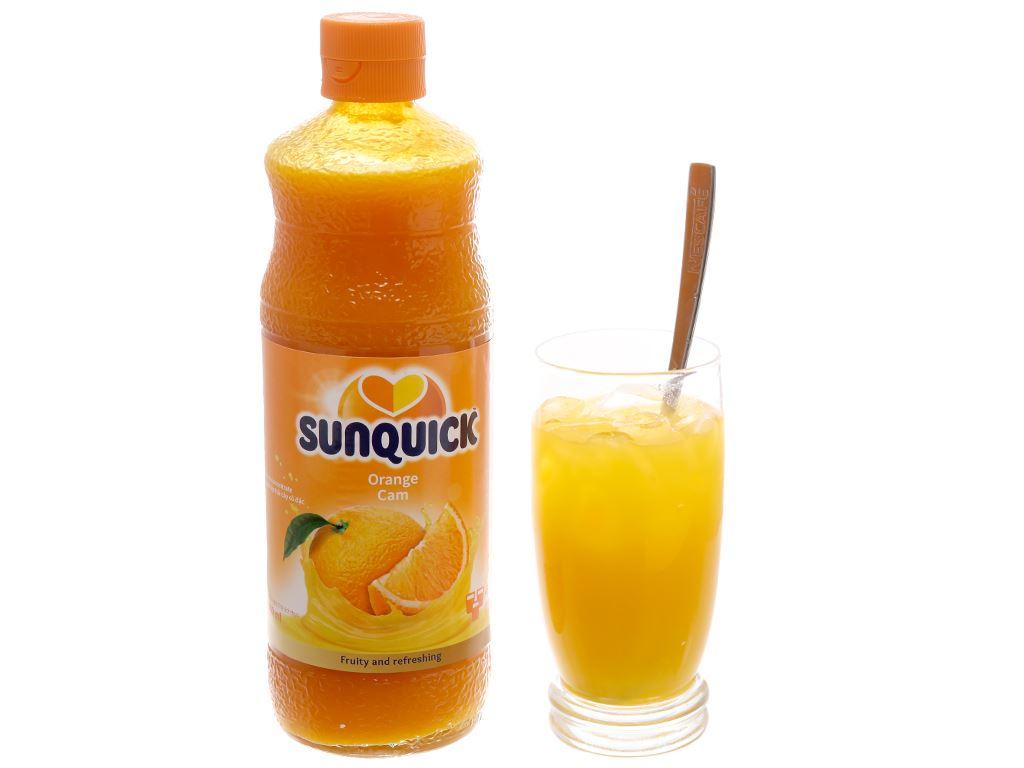 Nước ép cô đặc cam Sunquick 840ml 4