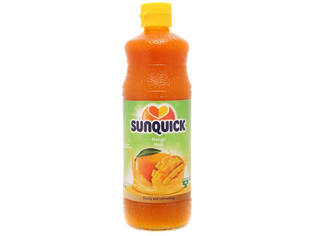 Nước ép cô đặc xoài Sunquick 840ml 1
