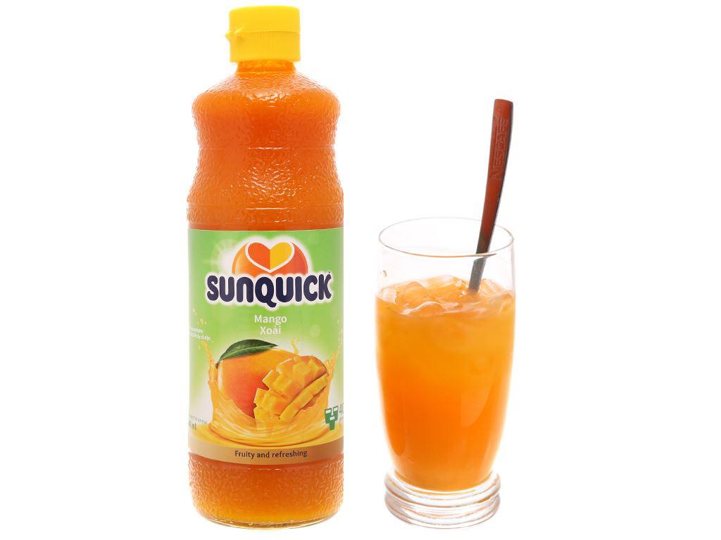 Nước ép cô đặc xoài Sunquick 840ml 4