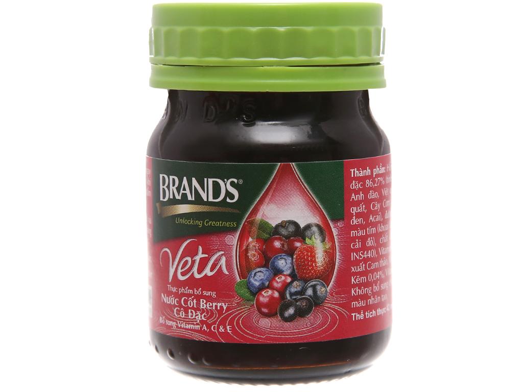 Lốc 6 hũ nước cốt berry cô đặc Brand's 42ml 3