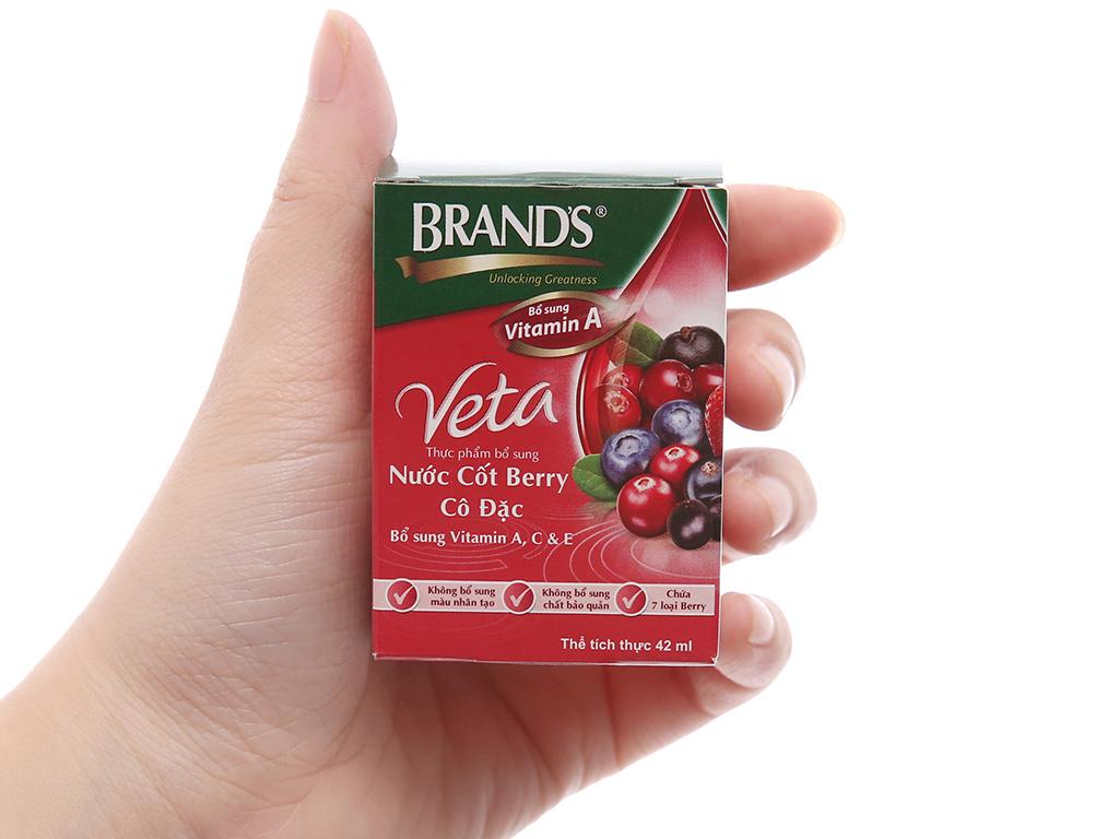 Lốc 6 hũ nước cốt berry cô đặc Brand's 42ml 6
