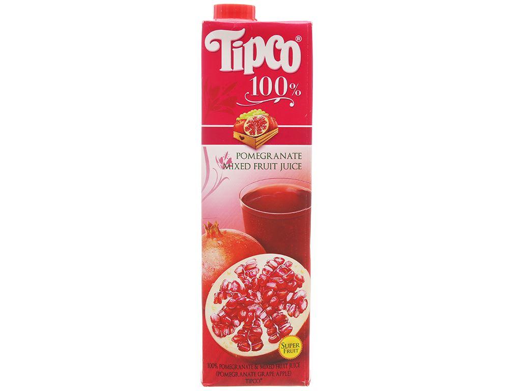 Nước ép lựu và trái cây hỗn hợp Tipco 1L 2