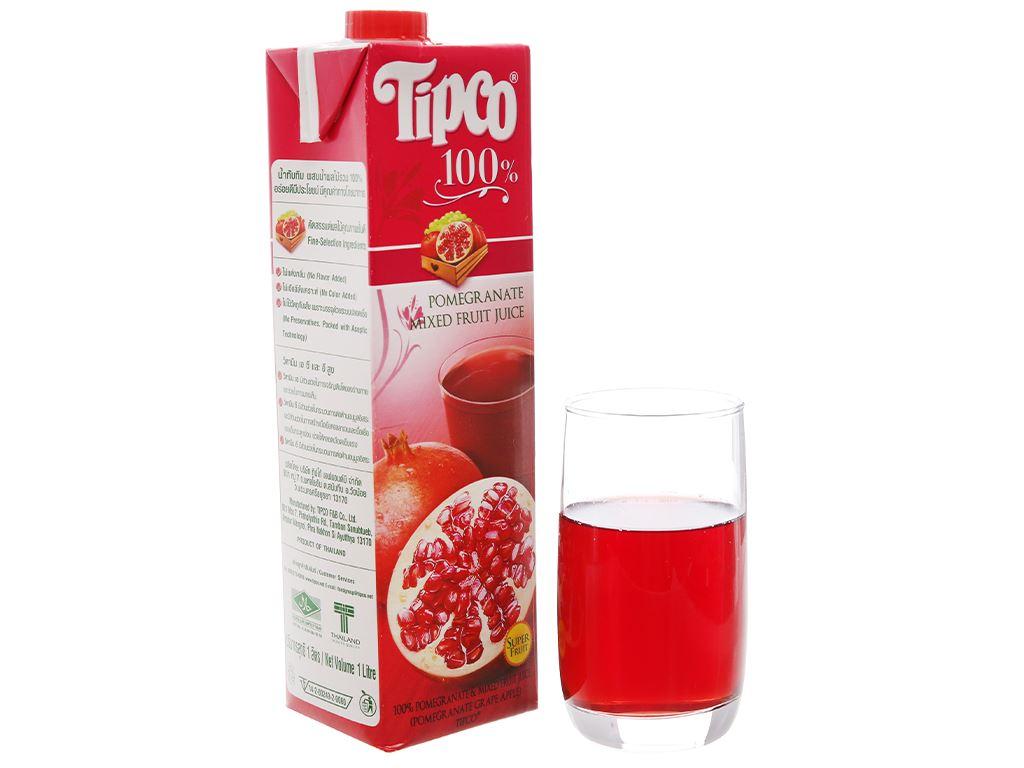 Nước ép lựu và trái cây hỗn hợp Tipco 1L 6