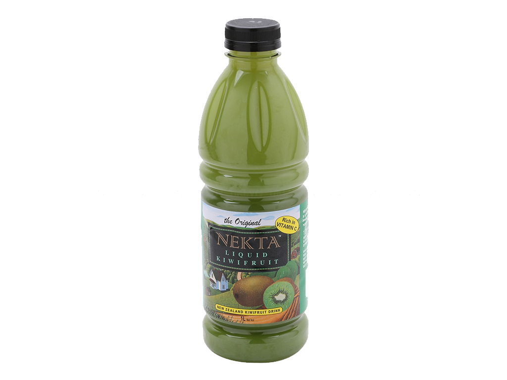 6 chai nước trái cây kiwi Nekta 1 lít 2