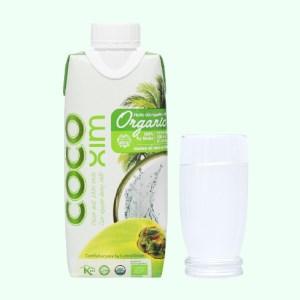 Nước dừa nguyên chất Cocoxim Organic 330ml