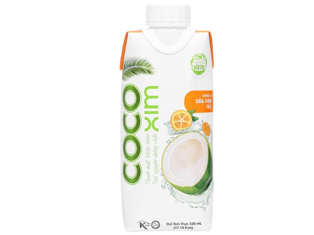 Nước dừa tắc Cocoxim 330ml 1