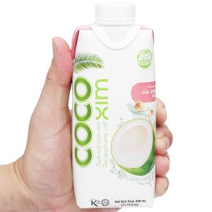Nước dừa xiêm sen Cocoxim 330ml