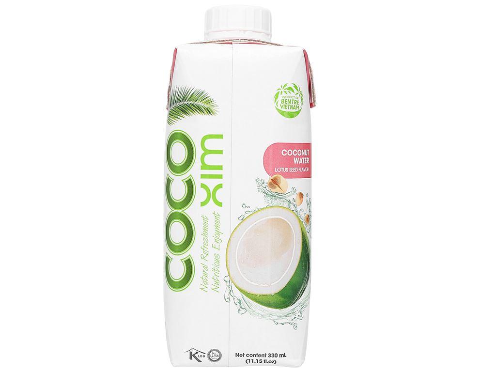 Nước dừa xiêm sen Cocoxim 330ml 2
