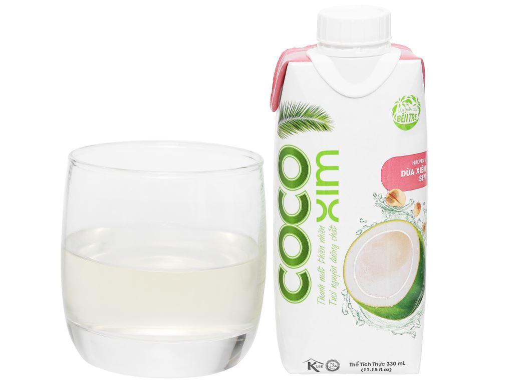 Nước dừa xiêm sen Cocoxim 330ml 8