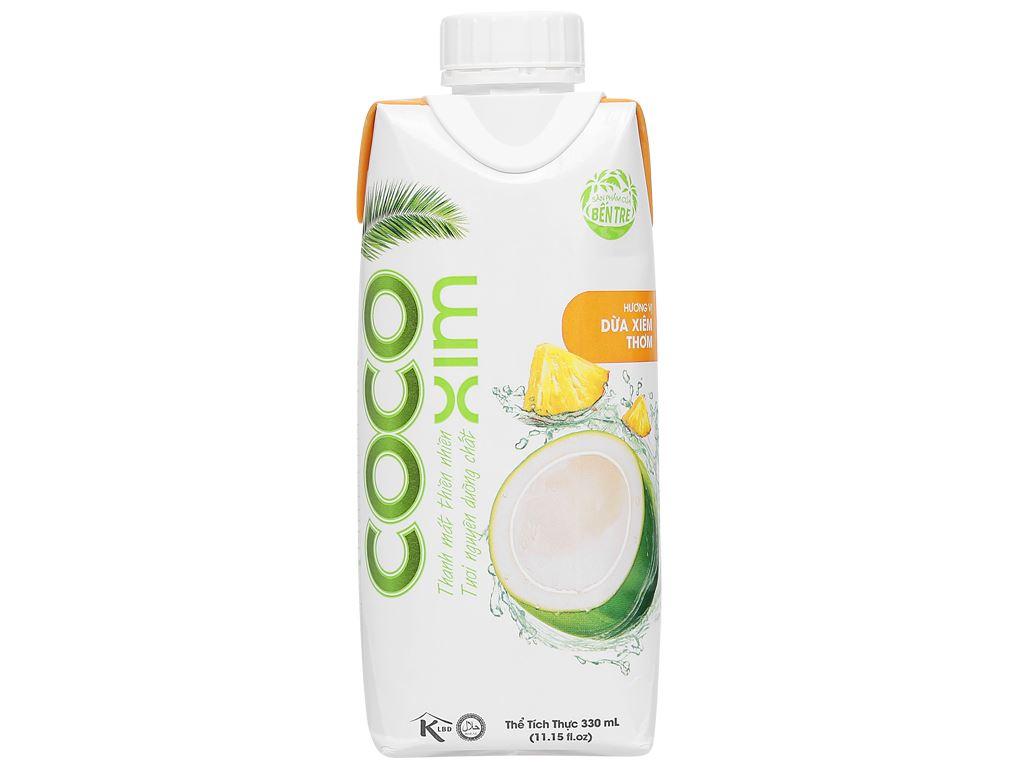 Nước dừa xiêm thơm Cocoxim 330ml 1