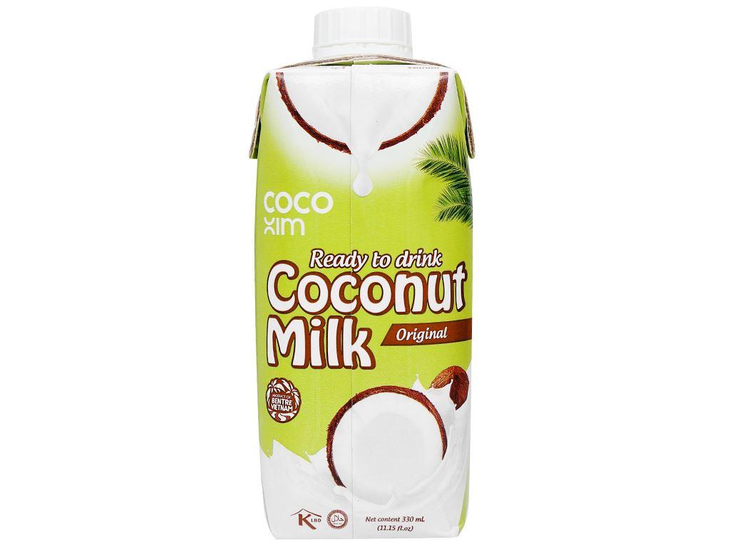 Sữa dừa nguyên chất Cocoxim 330ml 2