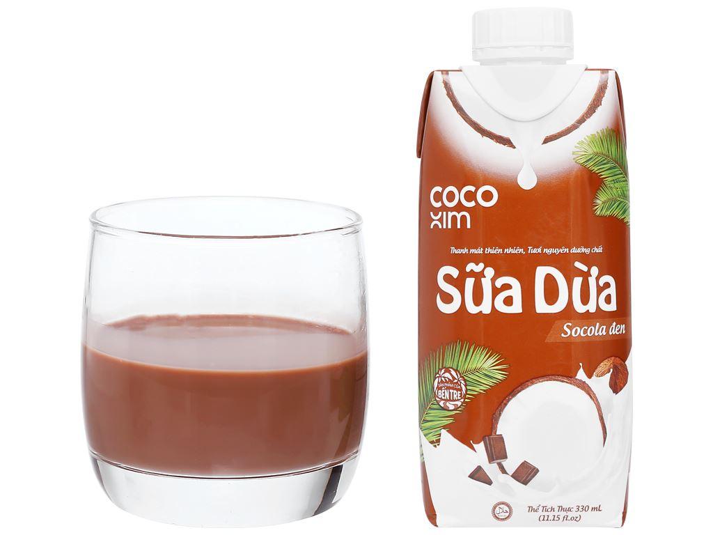 Sữa dừa sô cô la Cocoxim 330ml 8