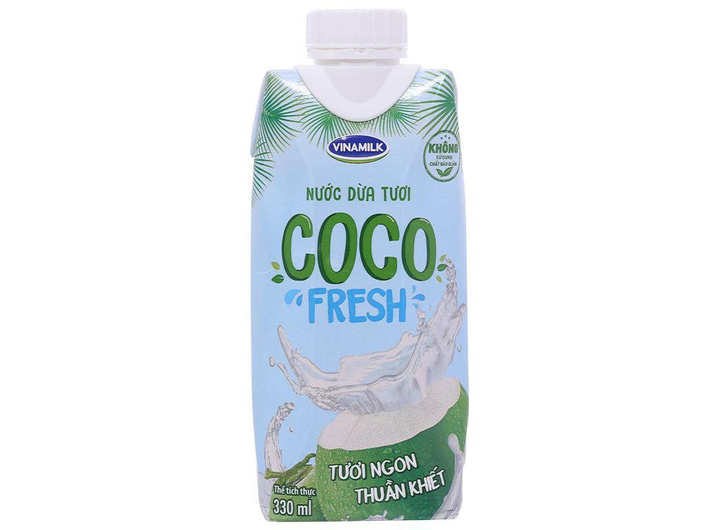 Nước dừa tươi Vinamilk Coco Fresh 330ml 1