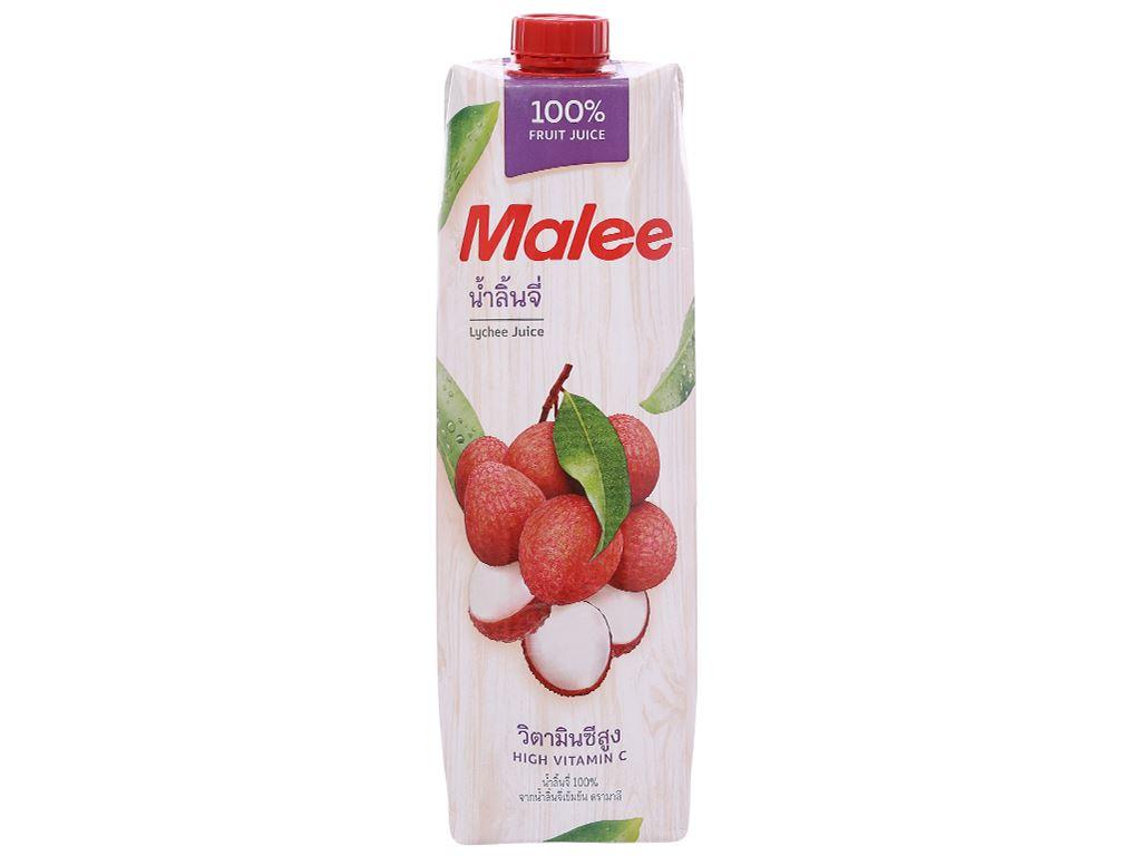 6 hộp nước ép trái vải Malee 1L 2