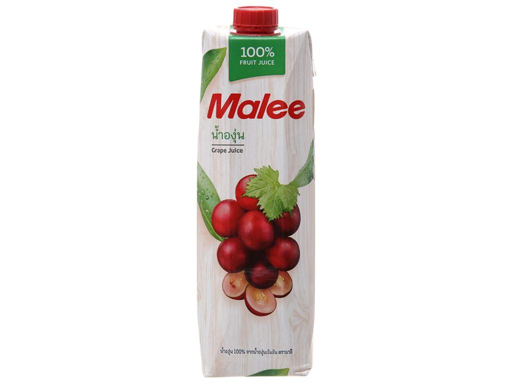 12 hộp nước ép nho Malee 1 lít 2