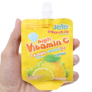 Nước thạch lắc chanh tươi Jele hight Vitamin C 150g