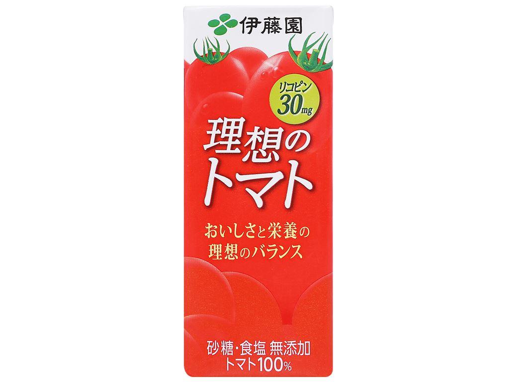 Nước ép cà chua ITOEN Riso Tomato 200ml 1