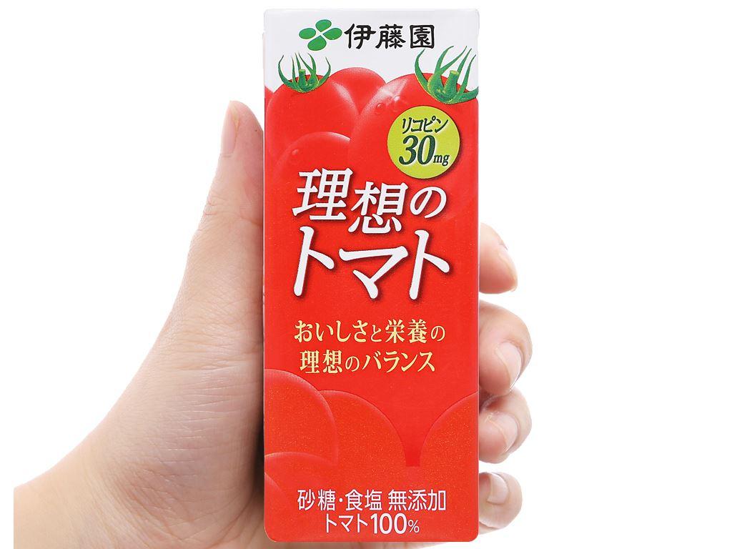 Nước ép cà chua ITOEN Riso Tomato 200ml 6