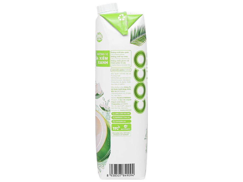 Nước dừa xiêm xanh Cocoxim 1 lít 3
