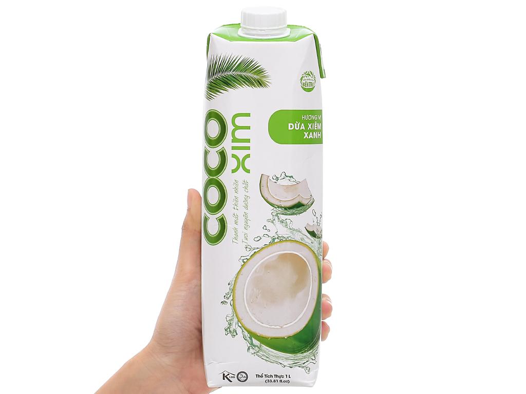 Nước dừa xiêm xanh Cocoxim 1 lít 7