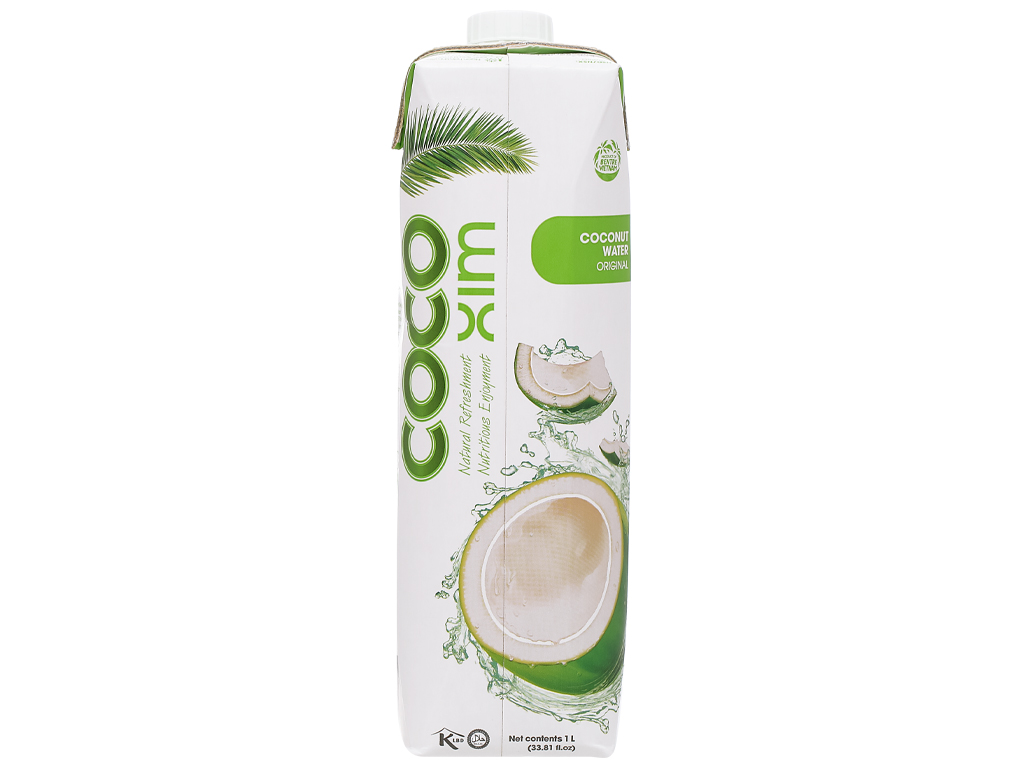 6 hộp nước dừa xiêm xanh Cocoxim 1 lít 3