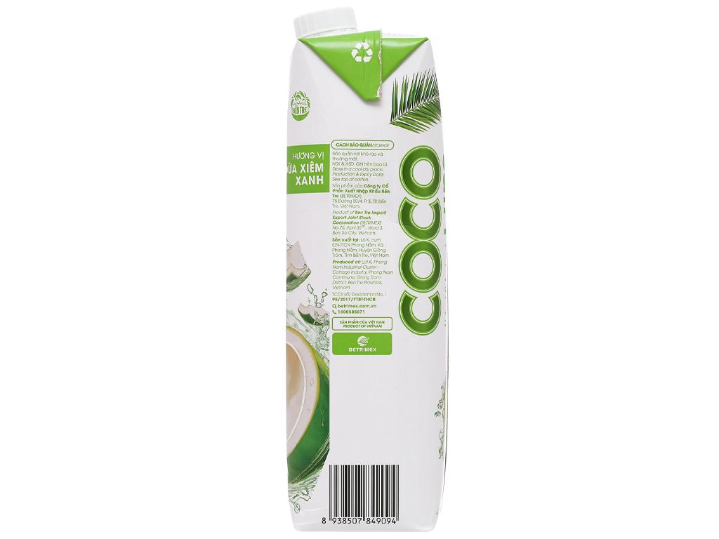 6 hộp nước dừa xiêm xanh Cocoxim 1 lít 4