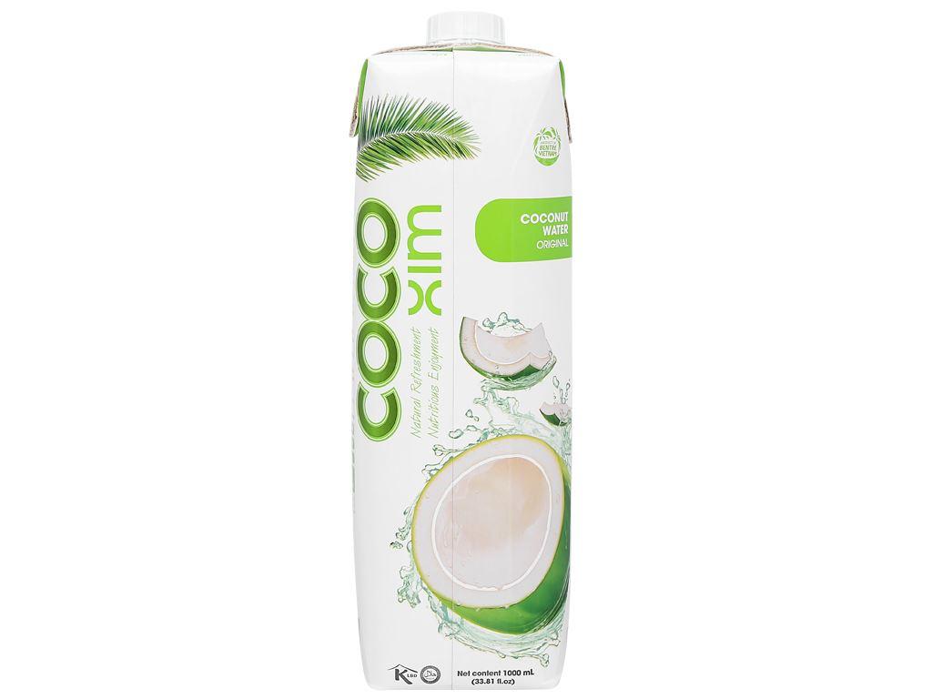Thùng 12 hộp nước dừa xiêm xanh Cocoxim 1 lít 3